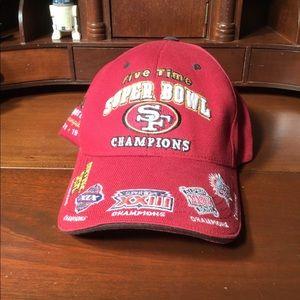 Vintage 49ers hat